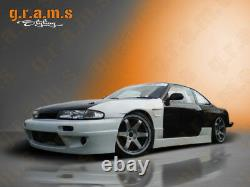 Wide Front Vented Front Wings +25mm Pour Nissan S14 200sx V8